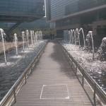 第三届中国iOS移动开发者大会-会场外喷泉