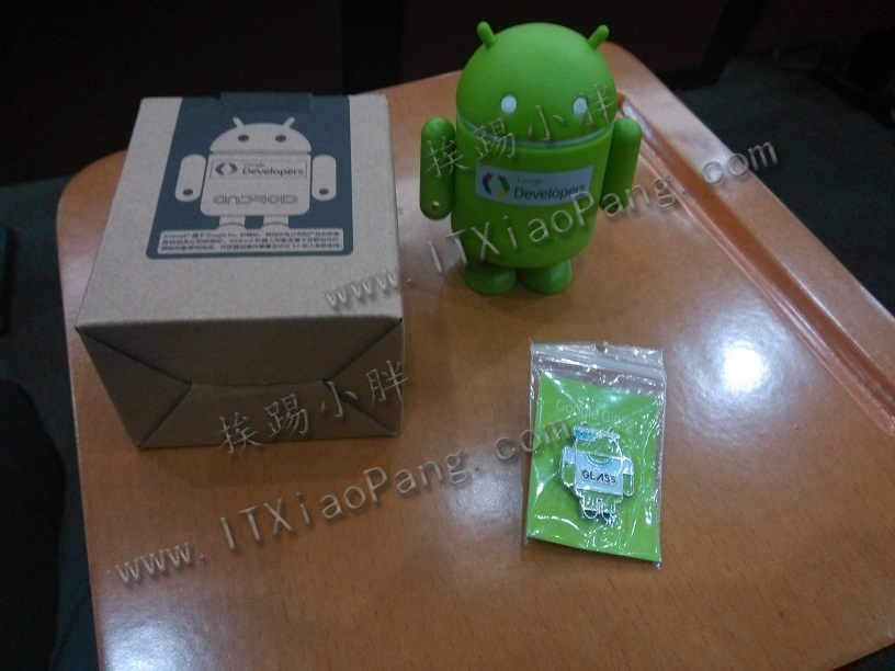 2013-Google-DevFest-奖品-安卓机器人-安卓钮扣